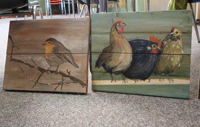 Goede Schilderworkshop schilderen op hout XN-02